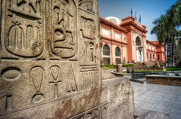 Museo Egipcio, en El cairo. Un lugar indispensable.