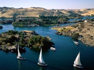 Navegando por el Río Nilo